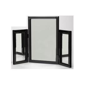 image-Black Dressing Table Mirror