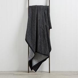image-Thermosoft Textures 220cm x 240cm Blanket Grey