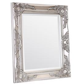 image-Villanova Accent Mirror Astoria Grand Finish: Vintage White, Size: 70cm H x 50cm W