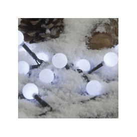 image-50, 100, 200 Fit & Forget Battery Operated White LED Berry Lights [50]