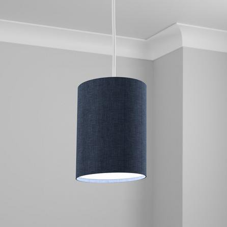 image-Made to Order 21cm Tall Cylinder Shade Linoso Orion