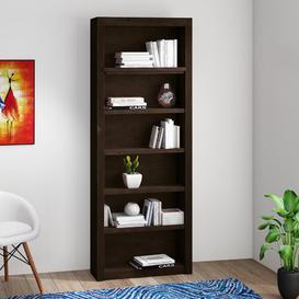 image-Hahira Bookcase Brayden Studio Finish: Havana Brown