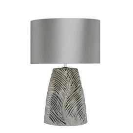 image-Brinda 49cm Table Lamp Metro Lane Finish: Silver/Silver
