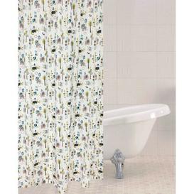 image-Jungle Shower Curtain Symple Stuff