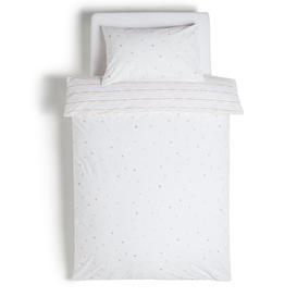 image-Habitat Kids Multi Spot Cotton Bedding Set - Single