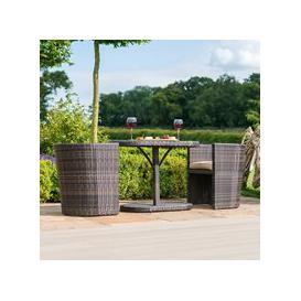 image-Maze Rattan Balcony Bistro Set