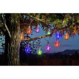 image-Habitat Neon Effect Bulb Solar String Light