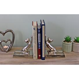 image-Leontine Metal Cat Bookends ClassicLiving
