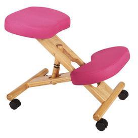 image-Kneeling Chair Zipcode Design Colour: Pink
