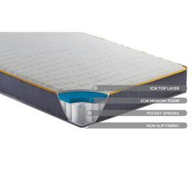 image-Horrocks Sleepsoul Balance Memory Foam Mattress Symple Stuff Size: Single (3')