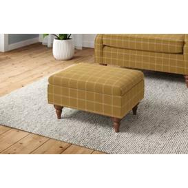 image-M&S Highland Plain Small Storage Footstool - 1SIZE