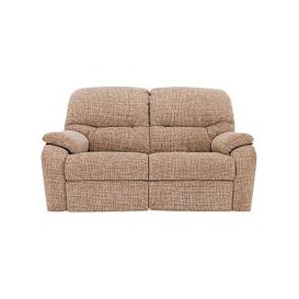 image-G Plan - Mistral 2 Seater Fabric Recliner Sofa