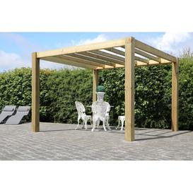 image-The Cube Garden 2.1m x 3.0m x 2.7m Solid Wood Pergola Pheasant & Co.