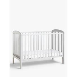 image-John Lewis & Partners Anna Dropside Cot, Grey