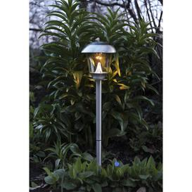 image-Rizzo 1 Light LED Solar Pathway Lights Sol 72 Outdoor Colour: Silver