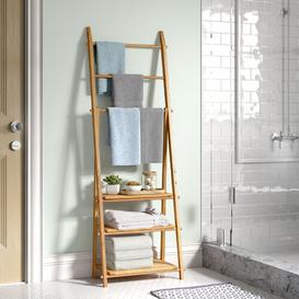image-Ault Bamboo Free-Standing Towel Rack Brambly Cottage