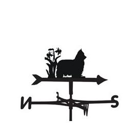 image-Weathervane in Yorkie Design - Large (Traditional)