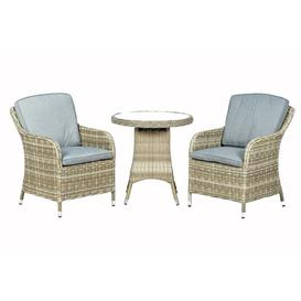 image-Swindon 2 Seater Bistro Set with Cushions