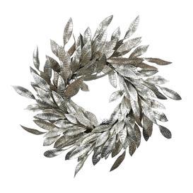 image-A by AMARA Christmas - Glitter Leaf Wreath - Champagne