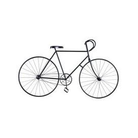 image-Black Metal Bike Wall Art 186x106