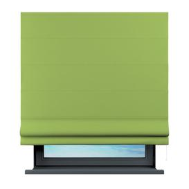 image-Sama Semi-Sheer Roman Blind Brayden Studio Size: 100 cm L x 120 cm W, Finish: Lemone/Green