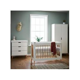 image-Obaby Maya Mini Cot Bed 3 Piece Nursery Furniture Set