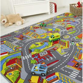 image-Street Playmat Andiamo Size: 0.4cm H x 200cm W x 300cm D