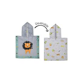 image-FlapJackKids Baby Cover Up - Lion/Zoo