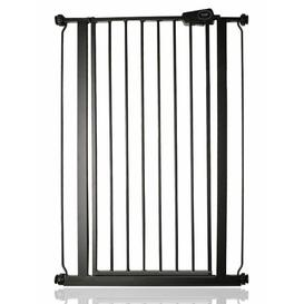 image-Tall Safety Gate Symple Stuff Colour: Slate Grey, Size: 126.7-134.3cm W