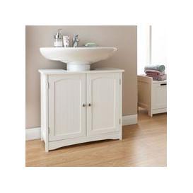 image-Colonial Underbasin Cabinet White 2 Door