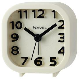 image-Pattingham Analog Quartz Alarm Tabletop Clock Ravel