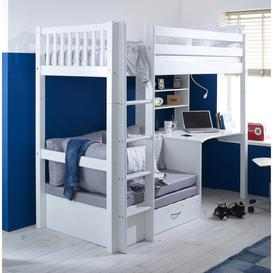 image-Penelope European Single High Sleeper Bed