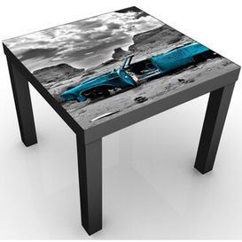 image-Jansen Children's Activity Table Happy Larry Colour: Black/Blue