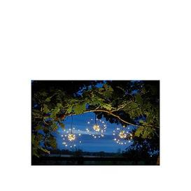 image-Smart Solar Triple Starburst String Lights