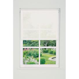 image-Sheer Roller Blind Brambly Cottage Finish: Natural, Size: 165 cm L x 90 cm W