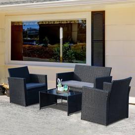 image-Nantan 4 Seater Sofa Set