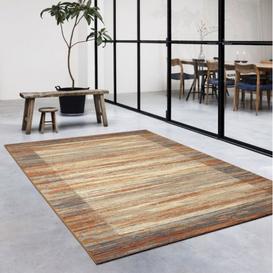 image-Galleria Patterned Brown Rug 67cm x 230cm