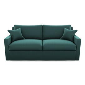 image-Stopham Sofabed 3 Seater Sofabed in House Velvet- Peacock
