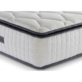 "image-""SleepSoul Bliss 800 Pocket Memory Pillow Top Mattress - Super King (6' x 6'6"""")"""