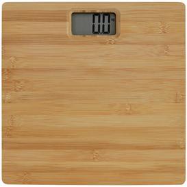 image-Argos Home Digital Bathroom Scales - Bamboo