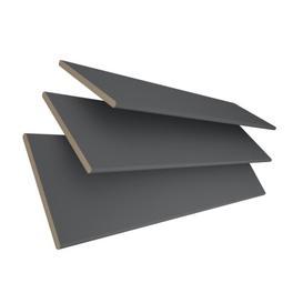 image-Real Sheer Venetian blind Ebern Designs Finish: Dark Grey, Size: 120 cm L x 45 cm W