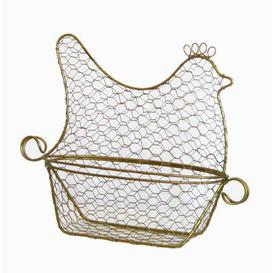 image-Cauley Basket in White Brambly Cottage