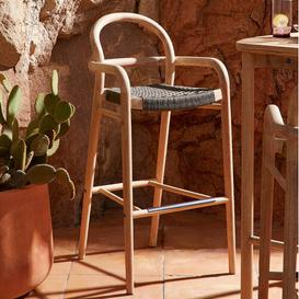 image-Northey 79cm Bar Stool (Set of 2) Sol 72 Outdoor Colour: Green