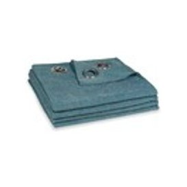 image-Single Cobalt Blue Eyelet Curtain 140x300