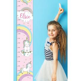 image-Personalised Baby Unicorn Height Chart