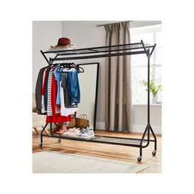 image-Heavy Duty 6ft x 5ft Clothes Rail