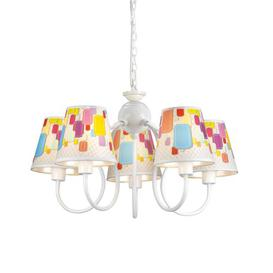 image-Sahil 5-Light Shaded Chandelier Mercury Row