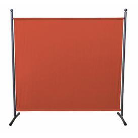image-Room divider Quick-Star Colour: Orange, Size: 180cm H x 178cm W x 30cm D