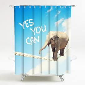 image-Yes You Can Shower Curtain Sanilo