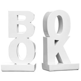 image-Polyresin High Gloss Bookends Symple Stuff